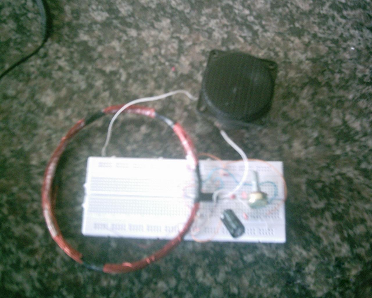 como fazer um detector de metais caseiro e muito facil